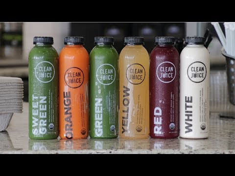 What is in a Clean Juice Juice Cleanse