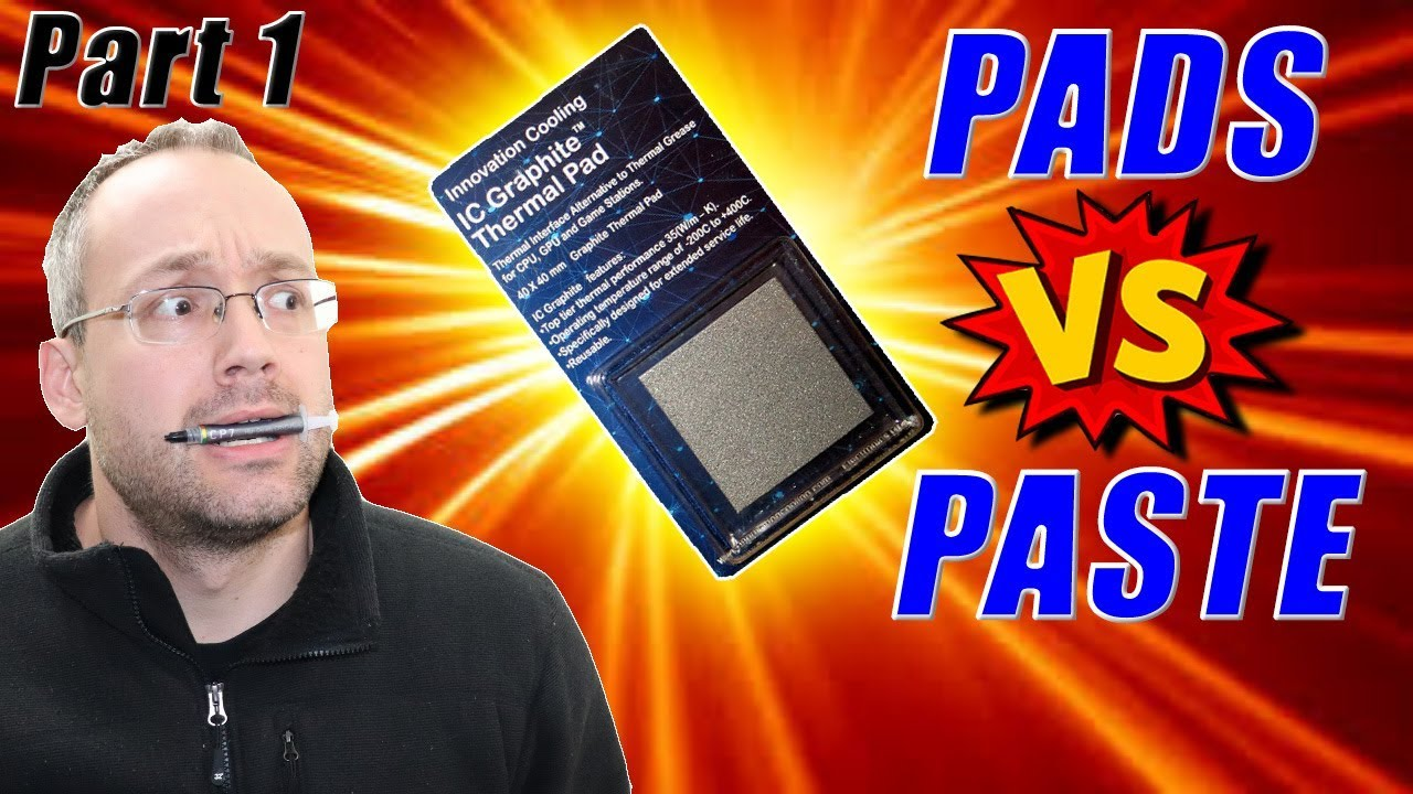 Thermal Pads Vs Thermal Paste My Experience Youtube