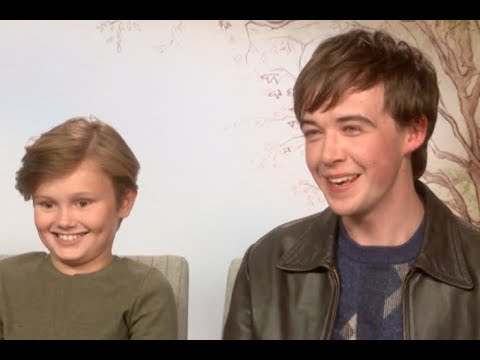 Alex Lawther and Will Tilston Had Fun Making Goodbye Christopher Robin