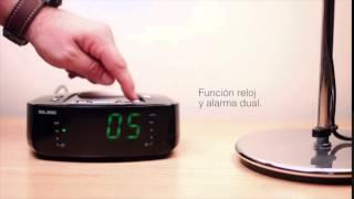 ELBE CR-396-USB radio despertador