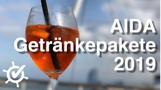 AIDA Getränkepakete 2019 - Rechnen die sich? Endlich all inclusive bei AIDA?
