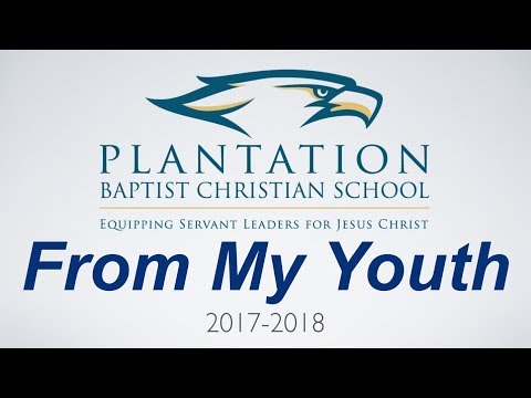 2018 Plantation Baptist Christian School Graduation