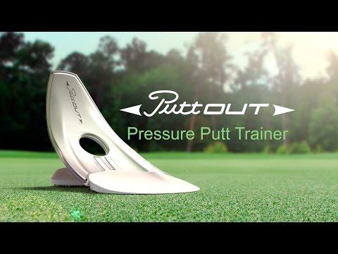 PuttOut - Golf pressure putt training aid
