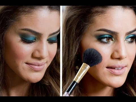 Elegant Party Makeup By Camila Coelho - YouTube