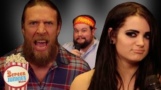 WWE Superfan Does Worst WWE Interviews Ever! (Feat Daniel Bryan, Paige, Xavier Woods and more!)