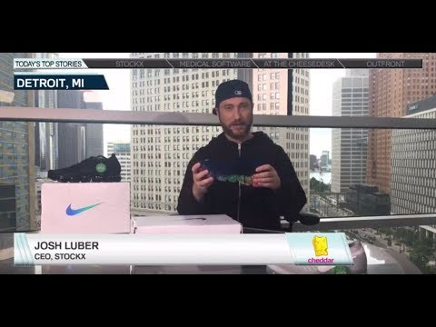 StockX on Cheddar - Wall Street Reacts to the Nike VaporMax - 07/24/17