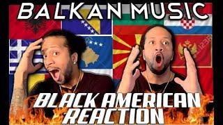 BLACK AMERICAN REACTS TO BALKAN MUSIC‼️(LIT PLAYLIST!!!)