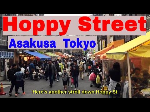 Hoppy Street in Asakusa Tokyo Japan