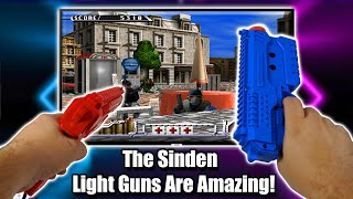 The Sinden Light Guns Are Amazing! Works With Modern TV's