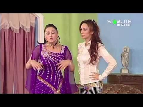 Best Of Nargis, Deedar and Nasir Chinyoti New Pakistani Stage Drama Full Comedy Funny Clip