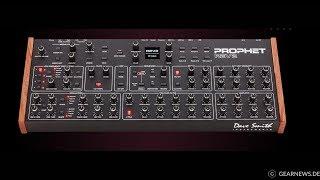 Dave Smith Instruments Prophet REV2 demo