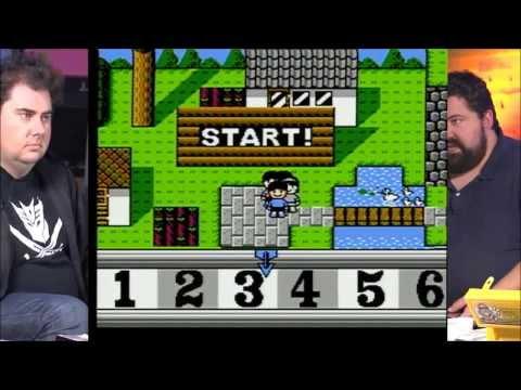 Giant Bomb Unarchived Retro Game (Famicom) Stream Dec 2012 - Part 1 of 2