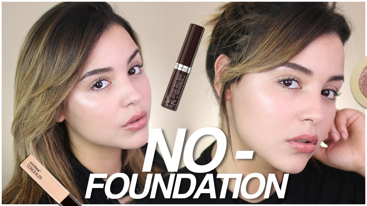 NO-FOUNDATION MAKEUP ROUTINE USING DRUGSTORE PRODUCTS ...