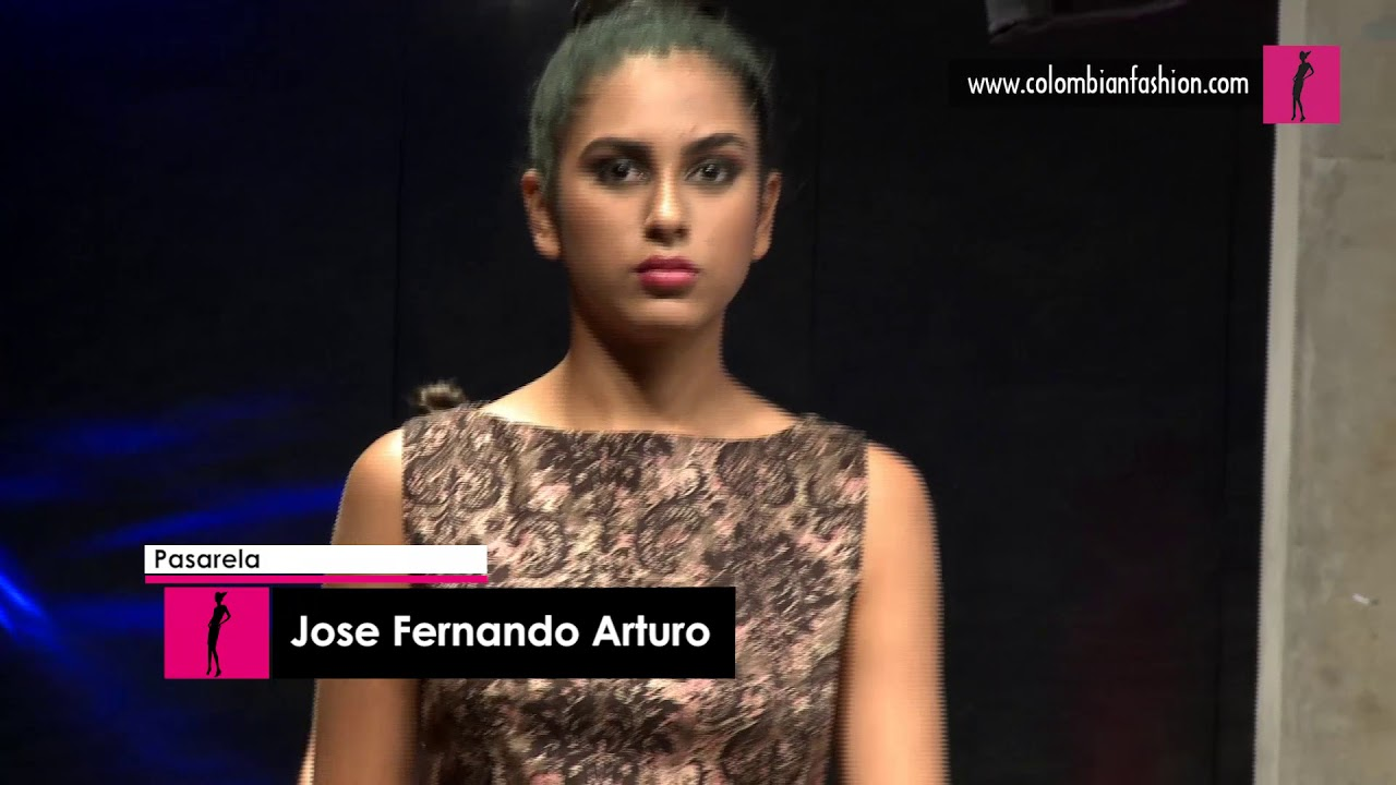 Pasarela Jose Fernando Arturo - Expomoda Ciudad de Palmira 2017