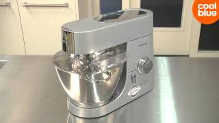 Kenwood KMC010 Chef Titanium Keukenmachine videoreview en unboxing (NL/BE)