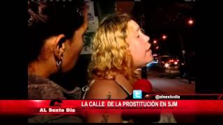 La calle de la prostitución en SJM: calvario frente al María Auxiliadora