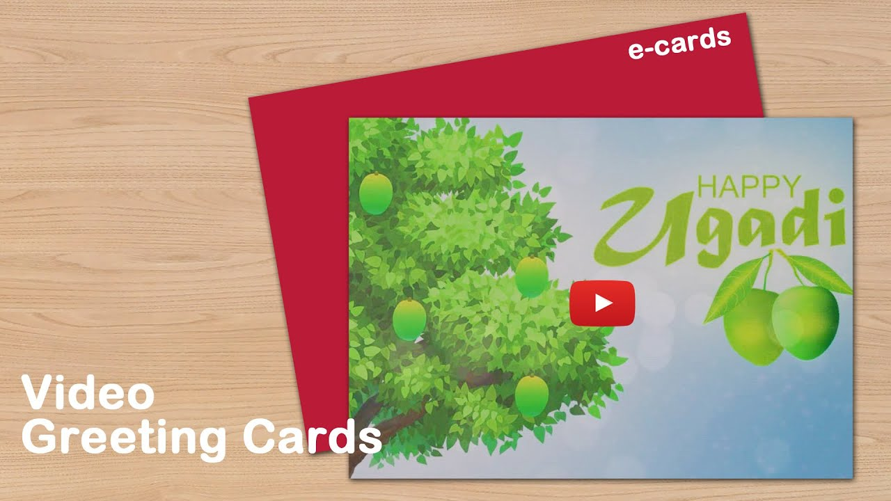 Happy ugadi video greeting cards youtube happy ugadi video greeting cards kristyandbryce Images