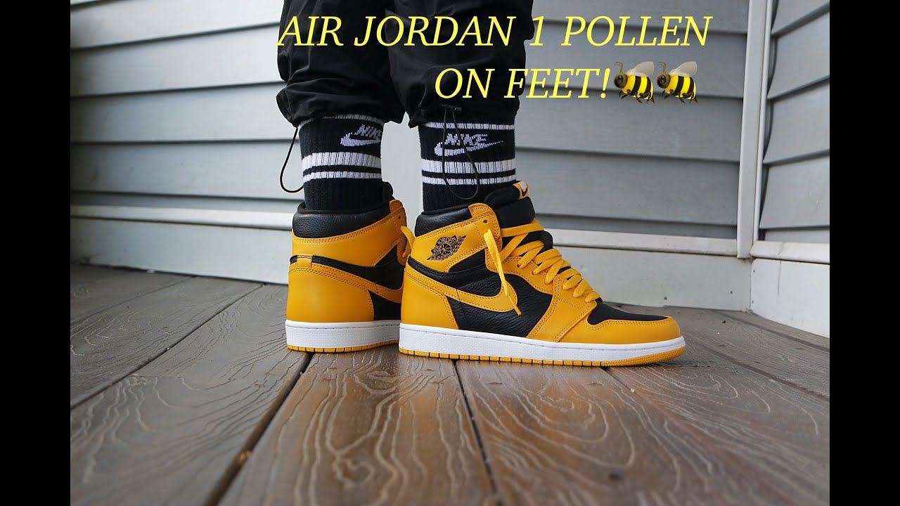 """AIR JORDAN 1 HIGH OG  """"POLLEN"""" """"REVIEW AND ON FEET! THESE ARE 🔥🔥"""