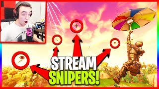 The Entire Lobby Was Coming After Me... (Stream Snipes)