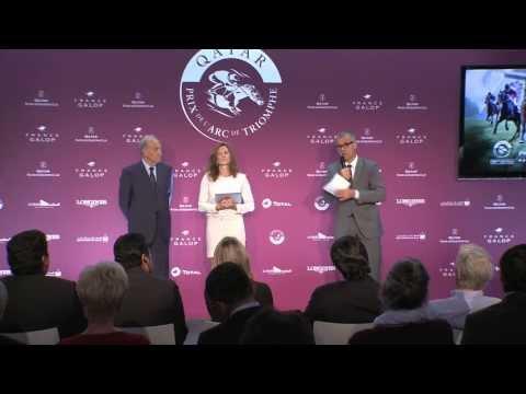 Présentation du Qatar Prix de l'Arc de Triomphe - 15 septembre 2013
