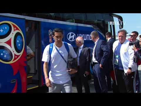 ARGENTINA ARRIVE - MATCH 7 @ 2018 FIFA World Cup™