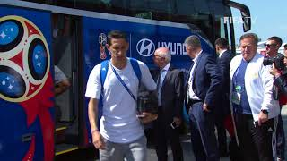ARGENTINA ARRIVE - MATCH 7 @ 2018 FIFA World Cup™