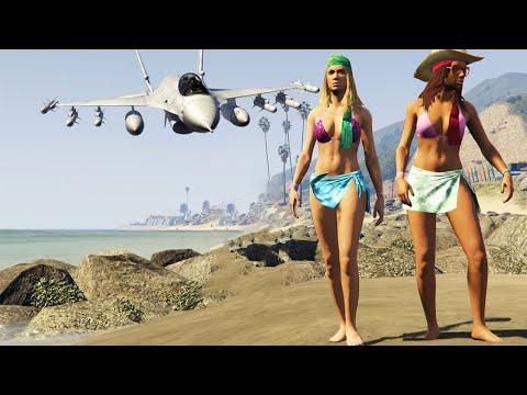 GTA 5 Girls Brutal Kill Compilation (Funny Moments)
