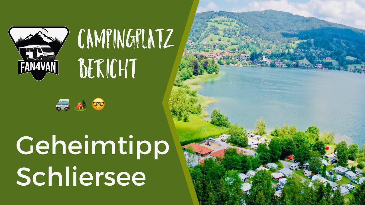Campingplatz Deutschland - Mein Geheimtipp am Schliersee