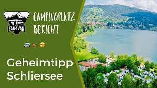 Campingplatz Deutschland - Męin Geheimtipp am Schliersee