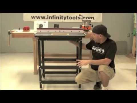 Infinity Cutting Tools - Professional Router Table Package #4 - With Triton Router