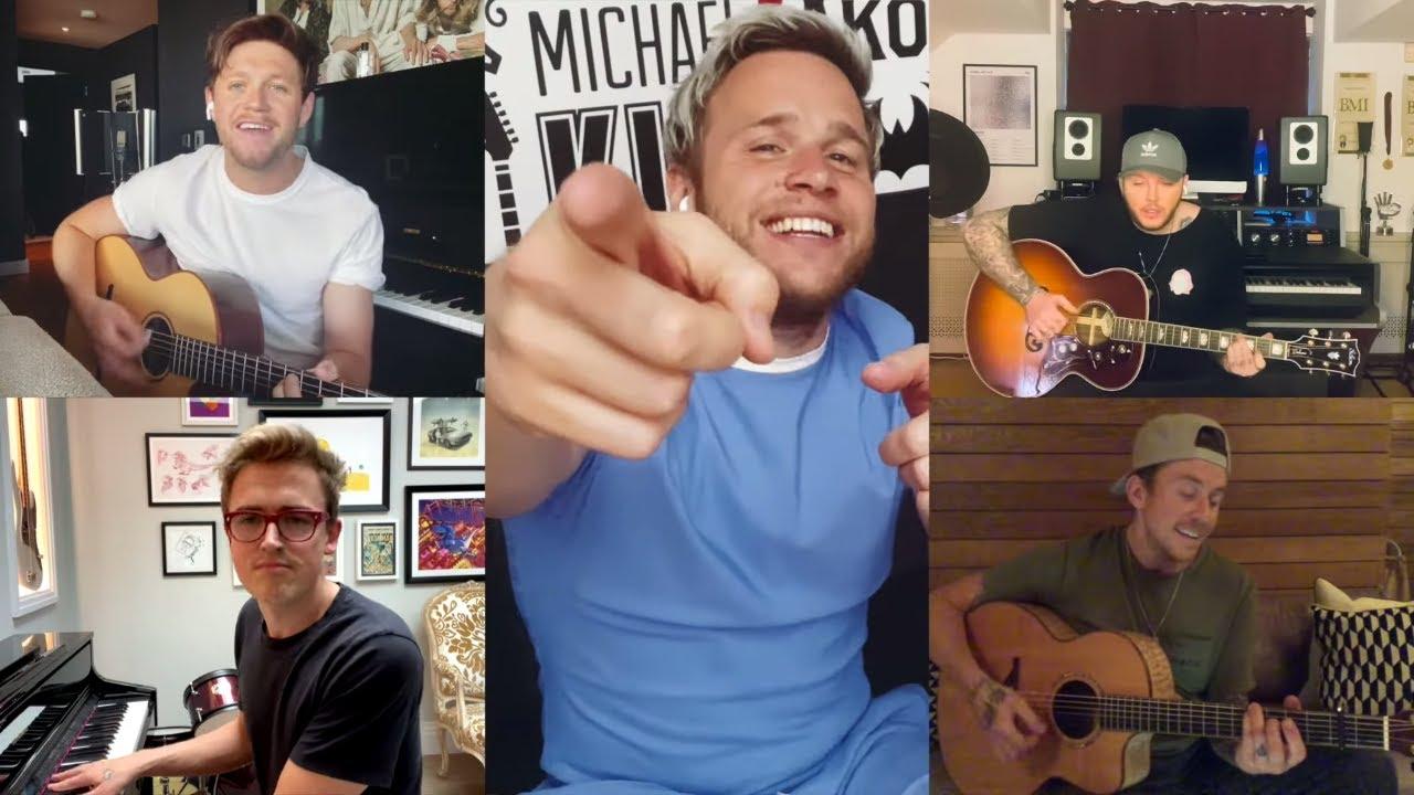 Niall Horan, McFly, James Arthur, Olly Murs - Shine A Light (Live Performance)