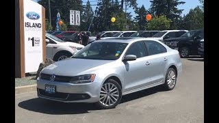 2012 Volkswagen Jetta Highline W/ Low KM, Heated Seats, Moonroof Review| Island