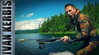 Крокодилы Тувы 2016. Подводная охота и рыбалка в Туве.(Вот и сбылась моя мечта побывать в Туве на подводной охоте! В нашей команде было 8 человек. Здесь мы занимали..., 2016-10-15T02:23:22.000Z)