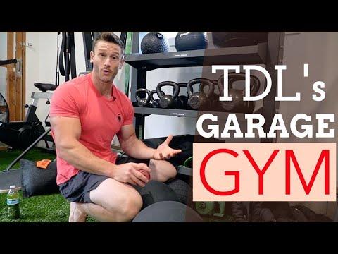 My Home Gym Tour - How I Built my Garage Gym