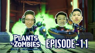 ХЯЗГААРГҮЙ ХЯЗГААРГҮЙ... | PLANTS VS ZOMBIES EP-11 | @Alienx Mongolia @TJ Temuujin