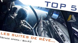 LE TOP 5 DES SUITES SPACE OPERA/SCI-FI QU