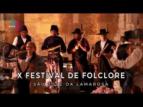 TRAILLER PROMOCIONAL - X FESTIVAL DE FOLCLORE DE S. JOSÉ DA LAMAROSA