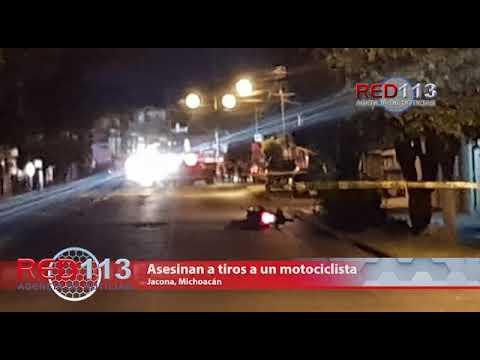 VIDEO Asesinan a tiros a un motociclista en la colonia La Esperanza