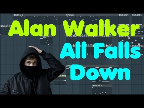 Alan Walker • All Falls Down • FL Studio Remake (+Free Download)