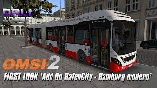 OMSI 2 Add On HafenCity - Hamburg modern FIRST LOOK Logitech G29 + EDTracker Pro Wireless