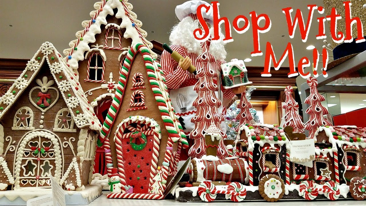 Shop with me christmas dillard 39 s decorations 2017 youtube for Salon xmas decorations