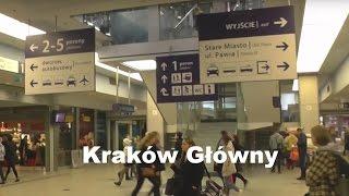 ж/д вокзал Кракова Krakow Glowny (полный обзор)