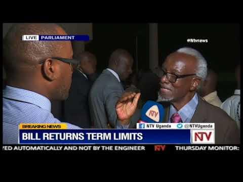 The dead can not rule the living - deputy Prime Minister Kirunda Kivejinja on the Age limit bill