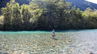 Fly fishing in Paradise - New Zealand