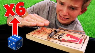 DONT ROLL A SIX!! (Punishment Dice Challenge)