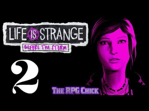 Let's Play Life is Strange - Before the Storm (Blind), Part 2: Daring Rescue
