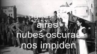 A las barricadas (lyrics) , tribute to CNT