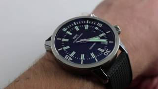Pre-Owned IWC Vintage Aquatimer 1967 Luxury Watch Review
