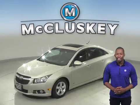 A11812LT Used 2014 Chevrolet Cruze 1LT FWD 4D Sedan Gold Test Drive, Review, For Sale -