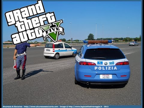 GTA5 LSPDFR POLIZIA STRADALE 113 FIVEM: Controlliamo l'autostrada